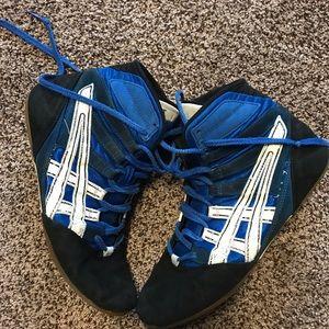 Old ASICS wrestling shoes